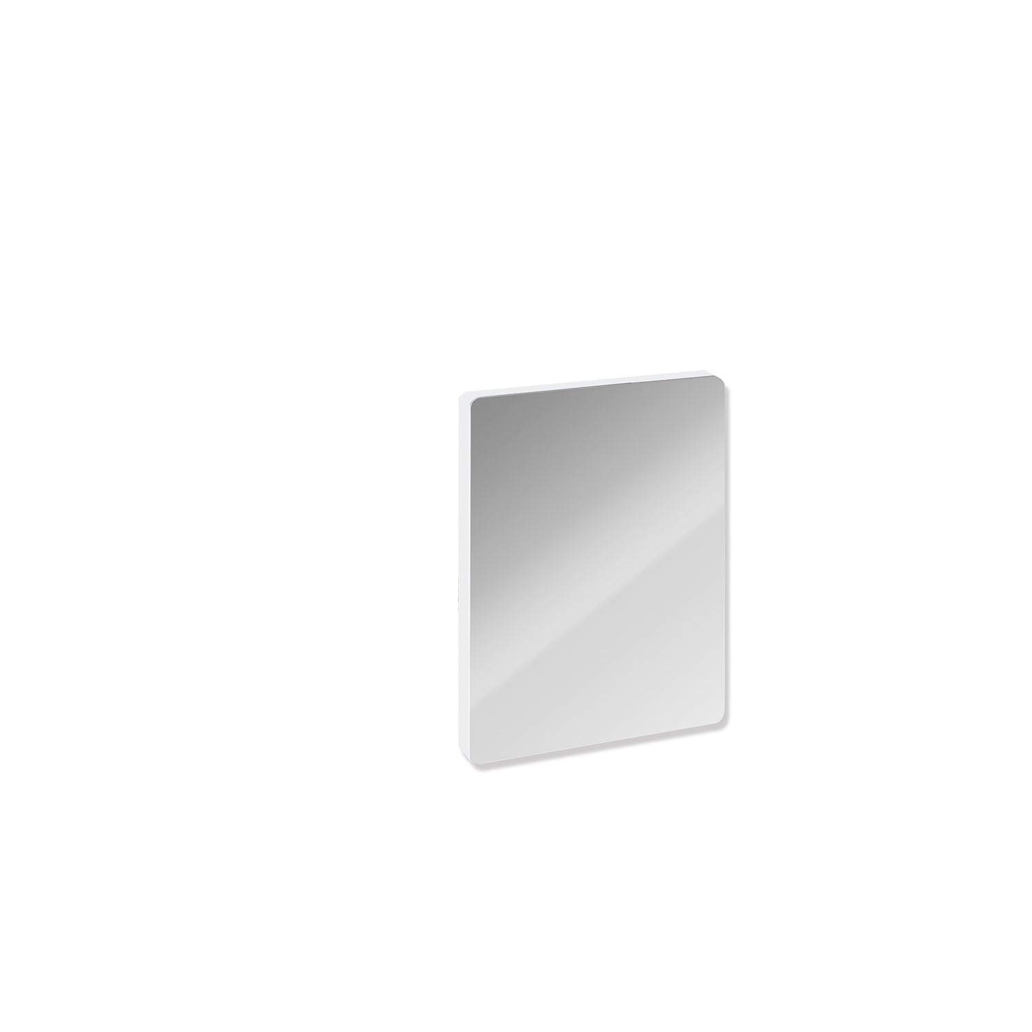 Circula Removable Hinged Grab Rail Cover with a chrome finish on a white background