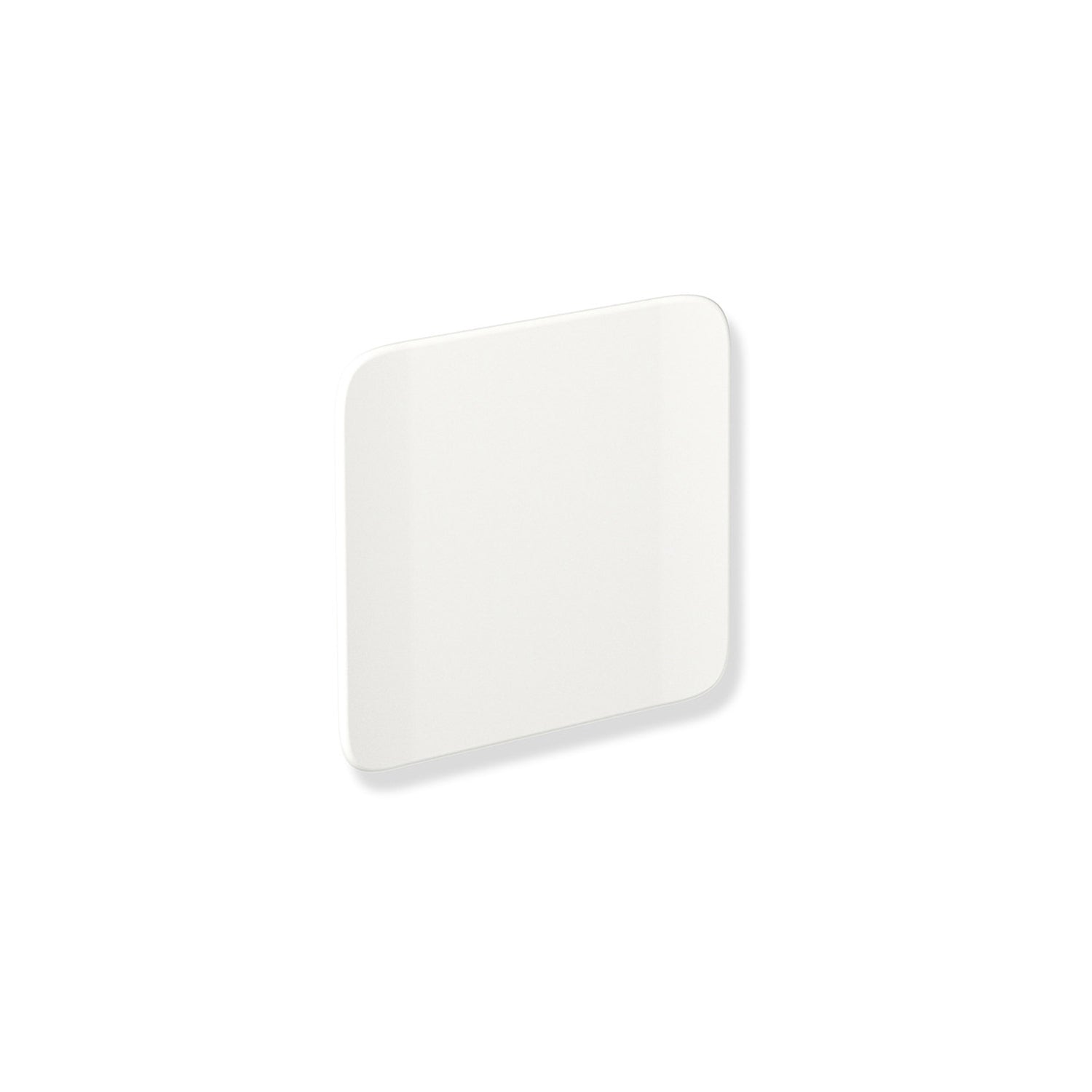 Backrest with Wall Bracket with a matt white finish on a white background