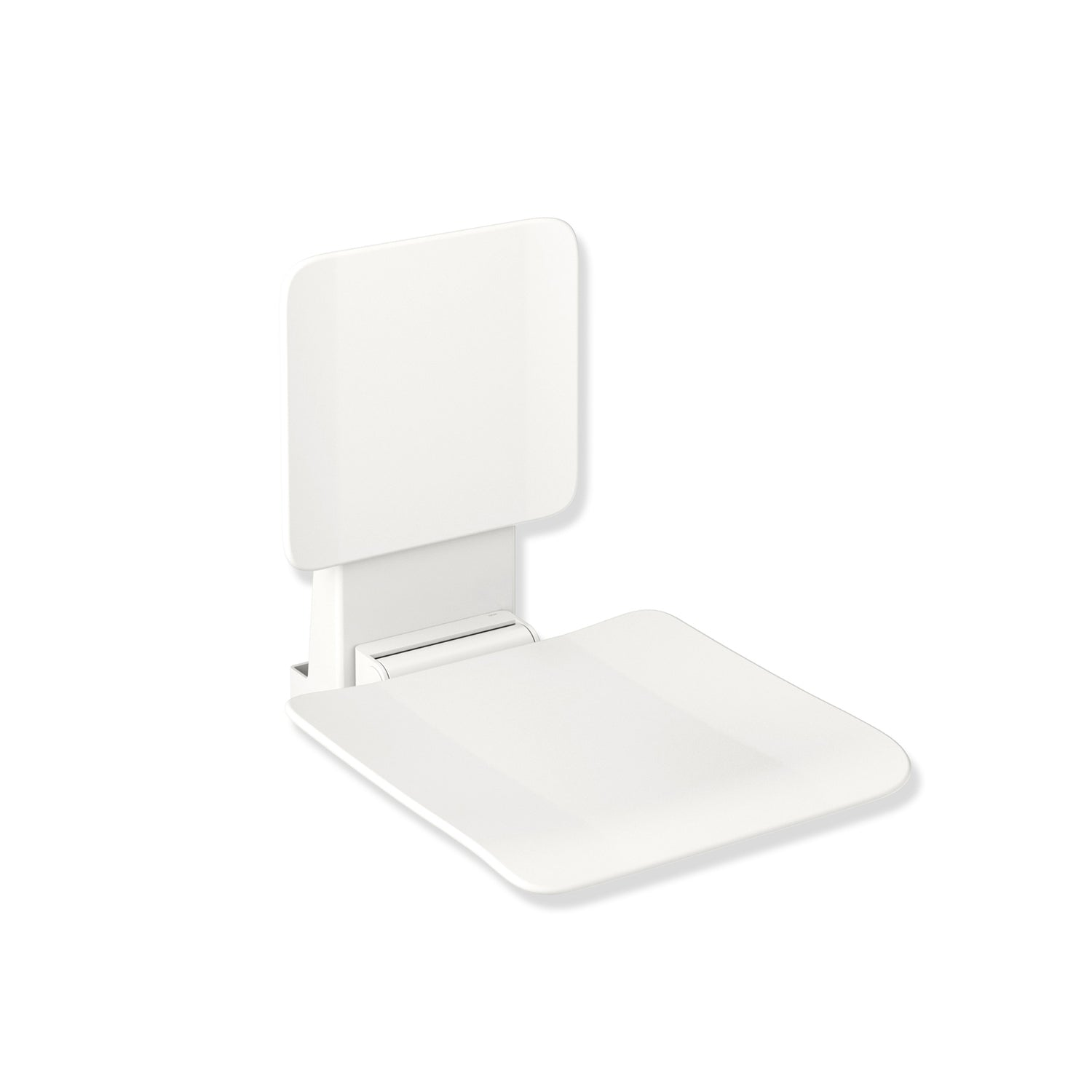 450mm Freestyle Hanging Seat with a backrest and a white finish on a white background
