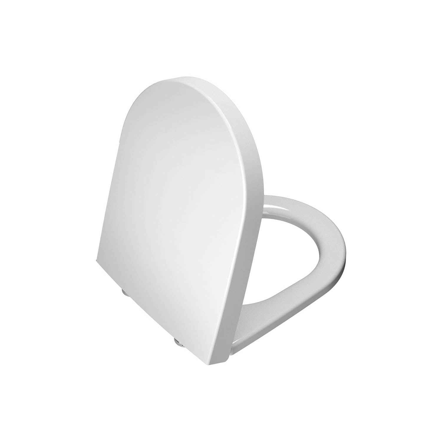 Matrix Long Projection Toilet Seat Ring on a white background