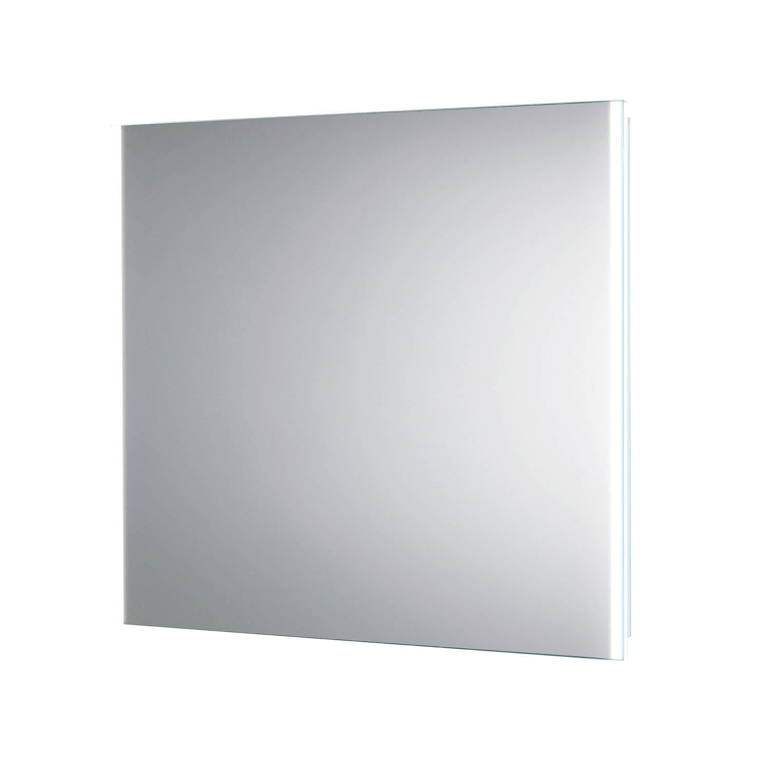 800x600mm Side Lit LED Light Mirror on a white background