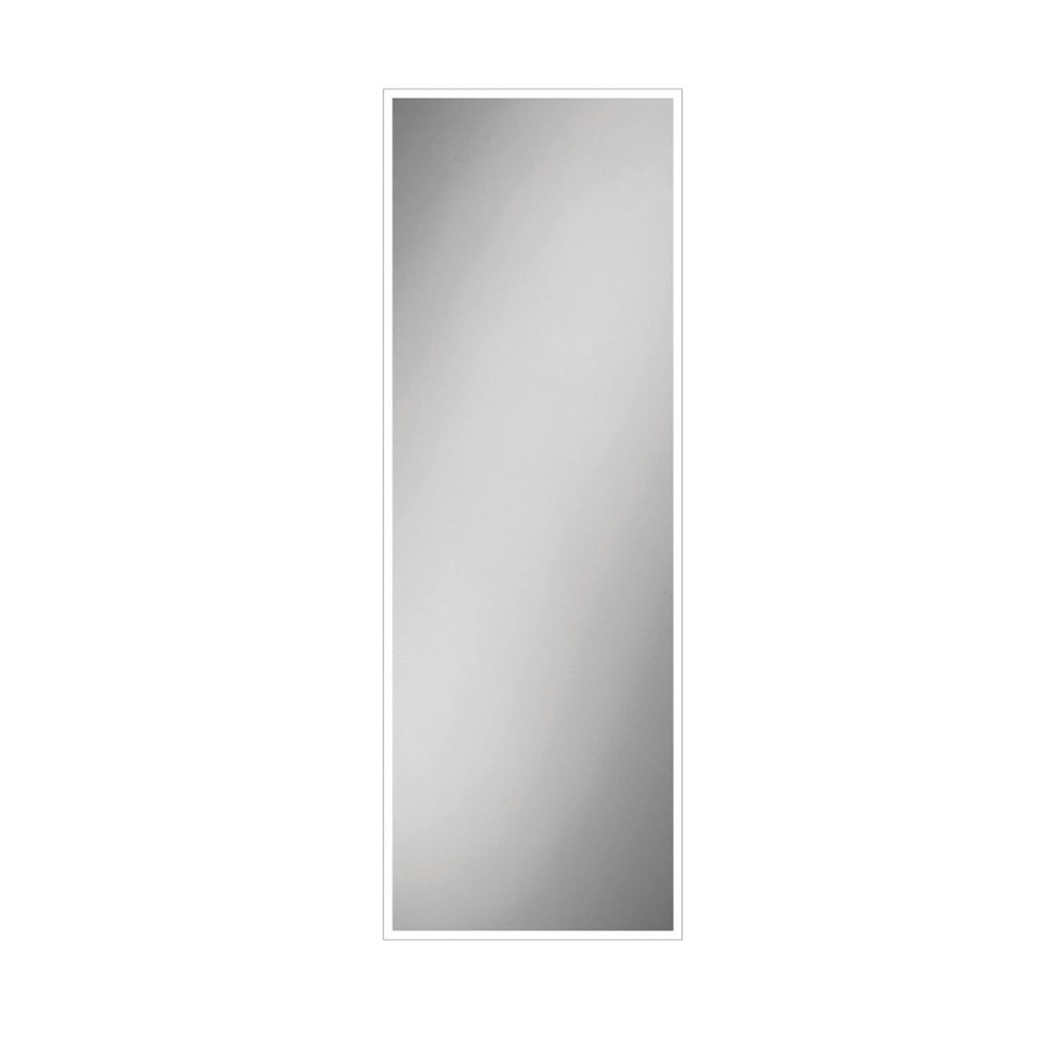 1400x600mm Front Lit LED Light Mirror on a white background