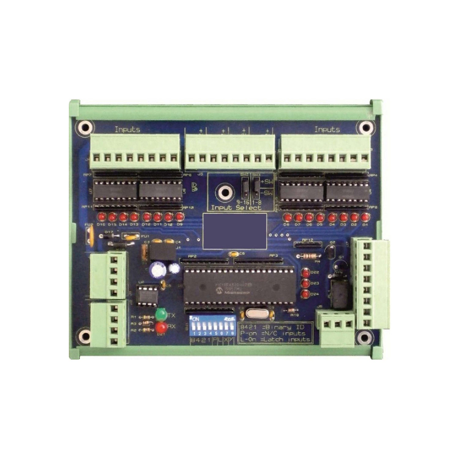 Spot Alarm 16 Way Input Controller on a white background