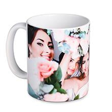 11oz Standard White Mug with photo