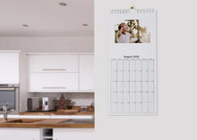 Load image into Gallery viewer, Slimline Kitchen Photo Calendars