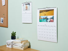 Load image into Gallery viewer, Wall Hanging Photo Calendars