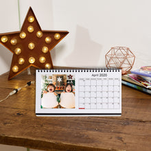 Load image into Gallery viewer, Personalised Desk Photo Calendar