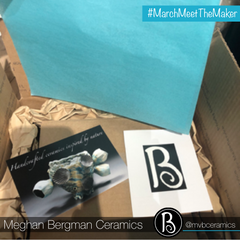 Pottery Wrapped and Ready to Be Shipped | Meghan Bergman Ceramics | Kennett Square, PA | Meet The Maker Series
