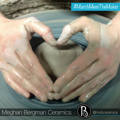 Pottery Wheel | Hands in a Heart | About The Artist |  Meet The Maker Series