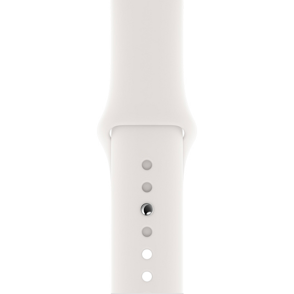 Pure White Apple Watch Strap