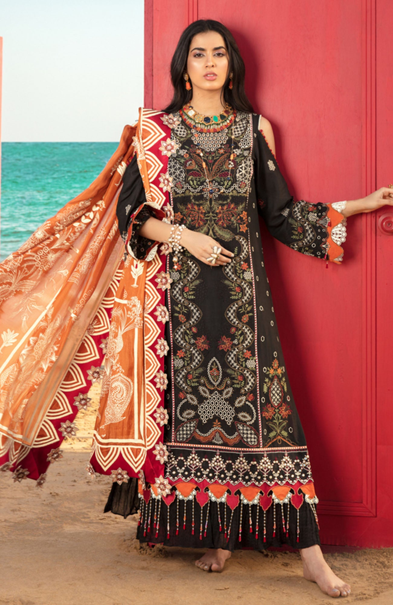 Noor Luxury Lawn-D-6A