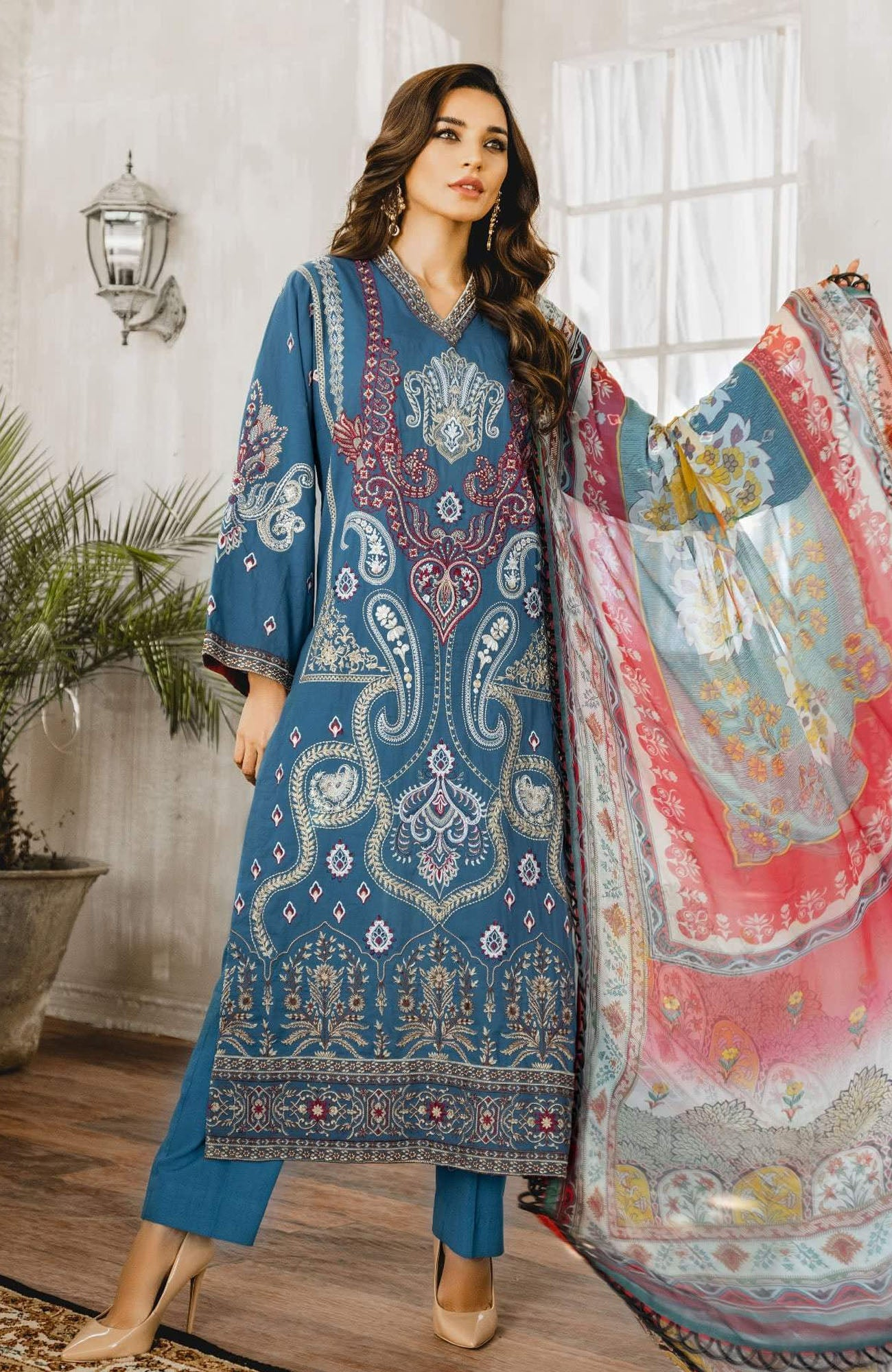 Maryum N Maria Luxury Lawn-ML3