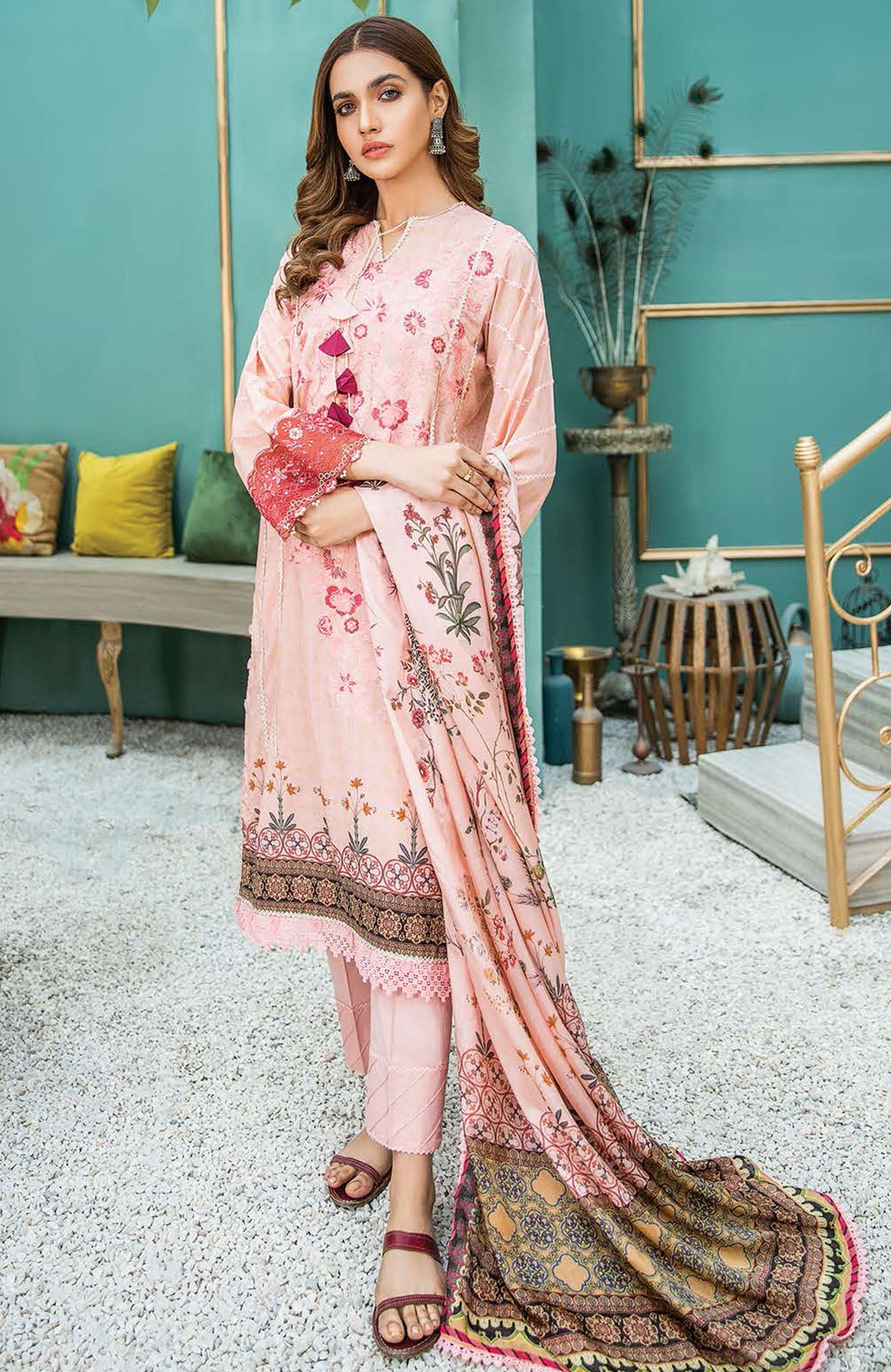 Aabyaan Luxury Lawn-AL-09