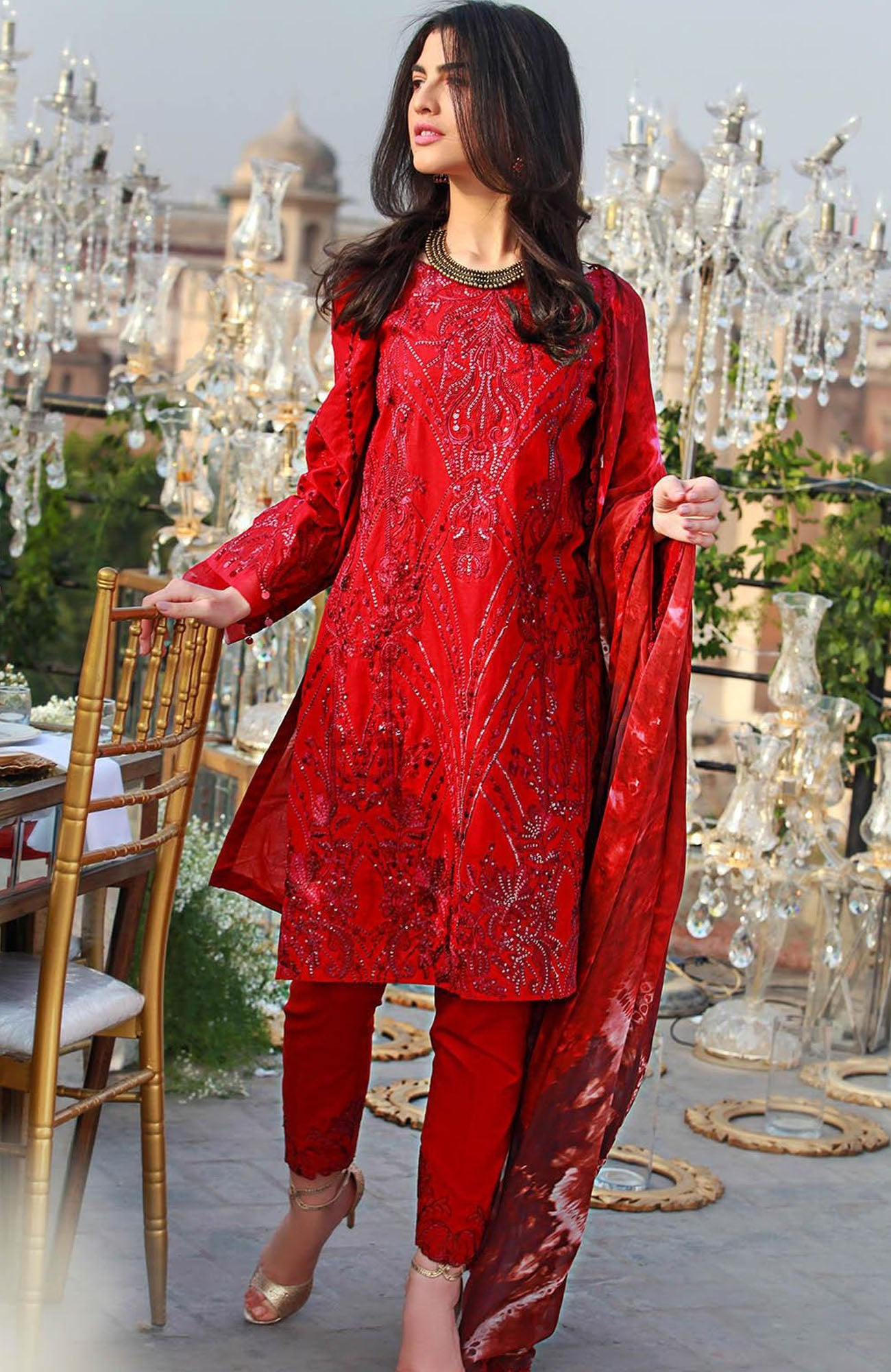 Saira Rizwan Eid lawn Collection-D-03