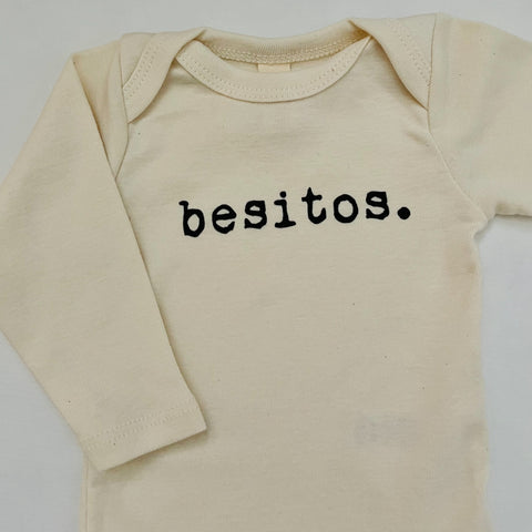 Besitos Long Sleeve Onesie
