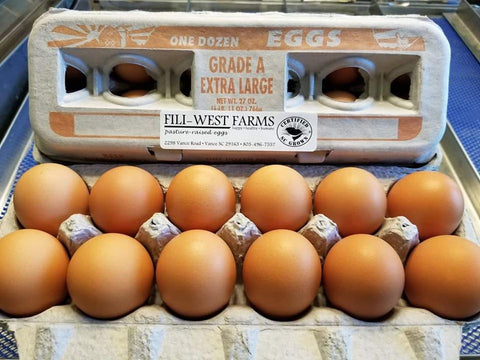 Fili West Farms Pastured Eggs