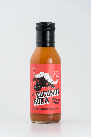 Burnt & Salty -  Coconut Suka, 12 oz