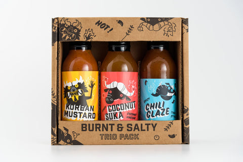 Burnt & Salty Trio Pack