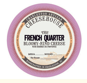 French Quarter - Brie/Camembert with Herbes de Provence