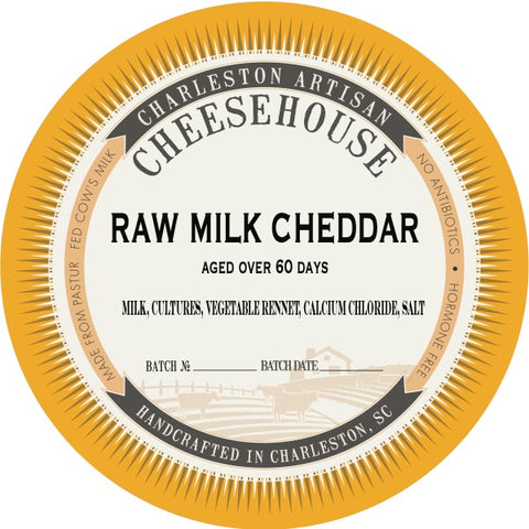 Aged Raw Milk Cheddar