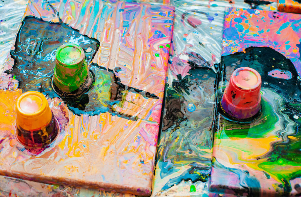 What is Acrylic Pouring Technique for Painting