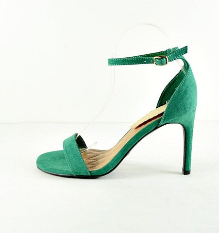 Lucky Lady Emerald Heels