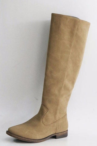 Taupe Warner Tall Boots