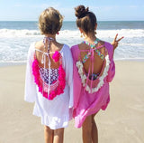 Tropical Mood Bathing Suit Cover-Up
