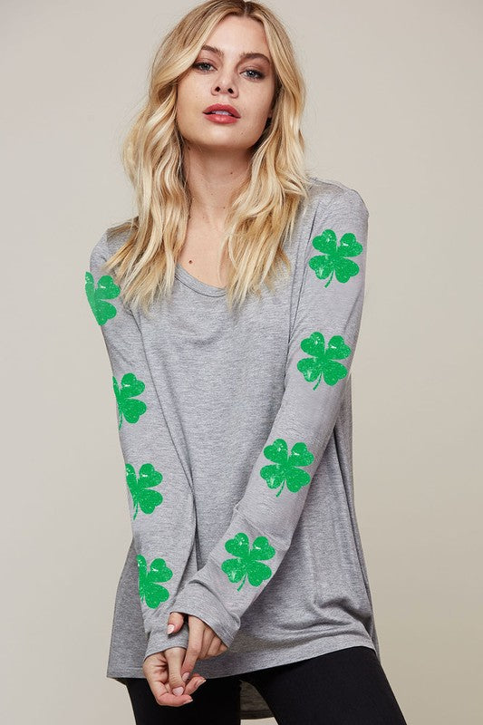 Be Lucky Long Sleeve Top