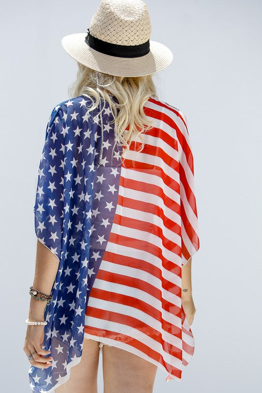 Oh My Stars and Stripes Cardigan