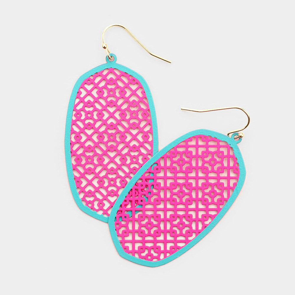 Summer Dangle Filigree Duo Earrings