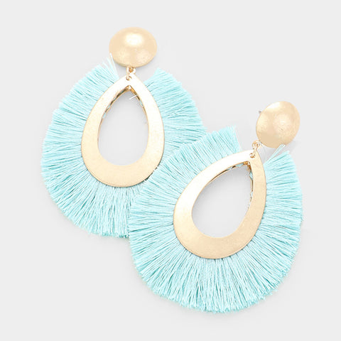 Fringy Fun Drop Earrings