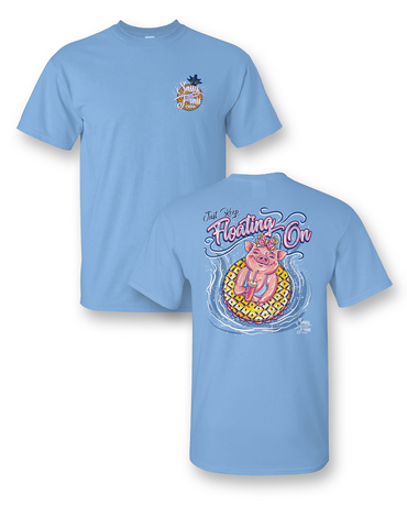 """Float On"" Pigs in the Pool Tee"