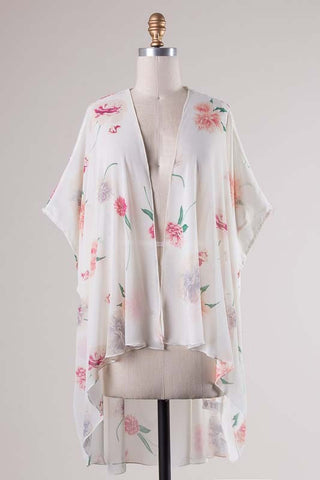 Ivory Sweet Bloom Cardigan