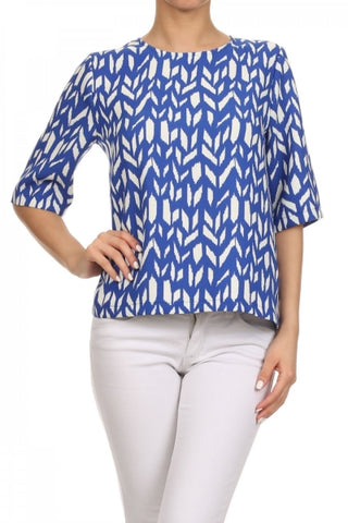 Be Royal Printed Top