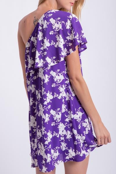 Finley One Shoulder Floral Dress