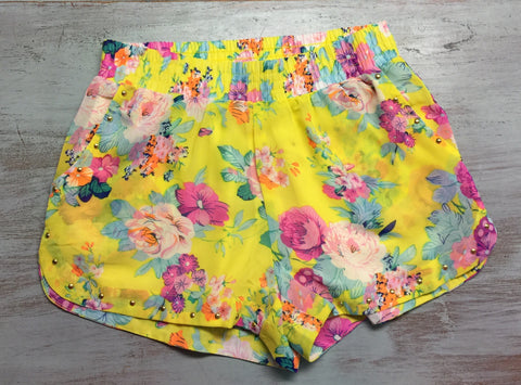 Sunshine and Floral Shorts