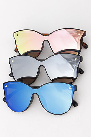 Throwing Shade Reflective Sunglasses