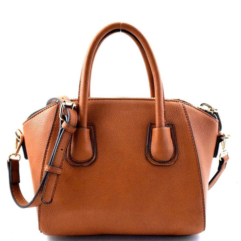Small Tan Top Handle Purse