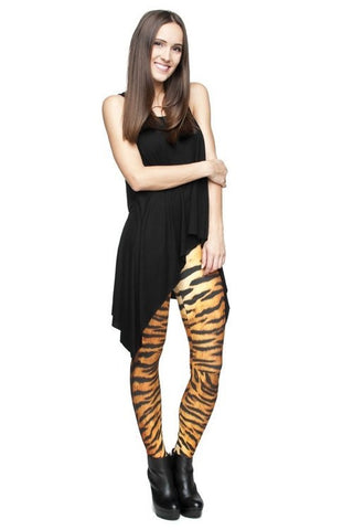 Tiger Print Leggings
