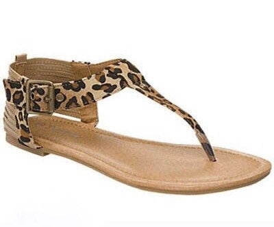 Aleece Leopard Sandals