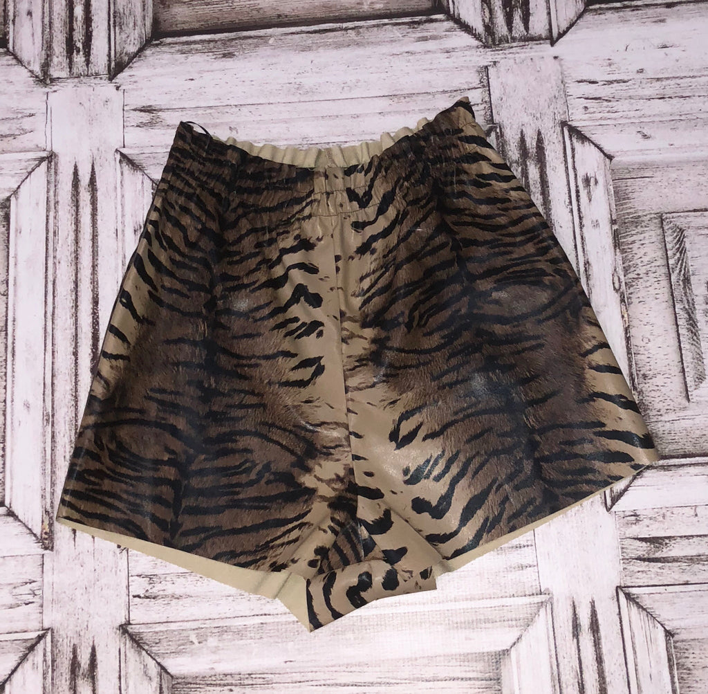 Stadium Sassy Tiger Shorts