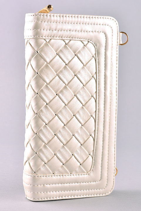 Small Woven Clutch