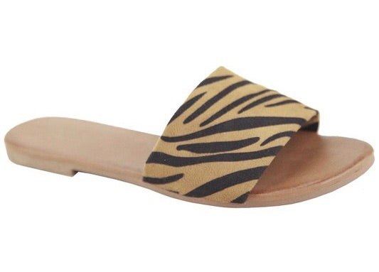 Tiger Girl Banded Sandal