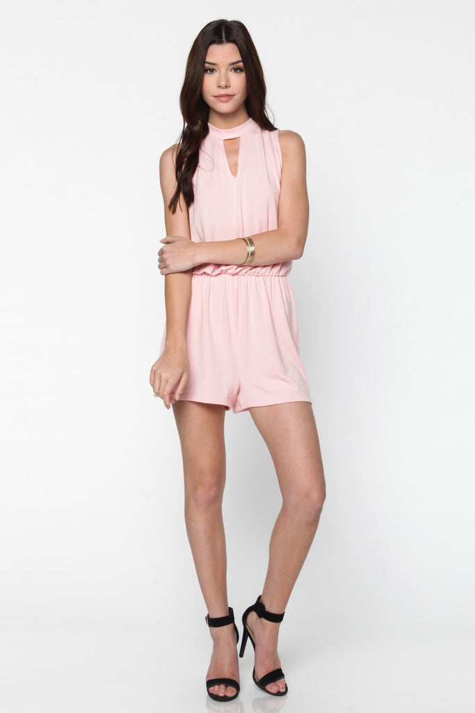 Blush Knit Romper