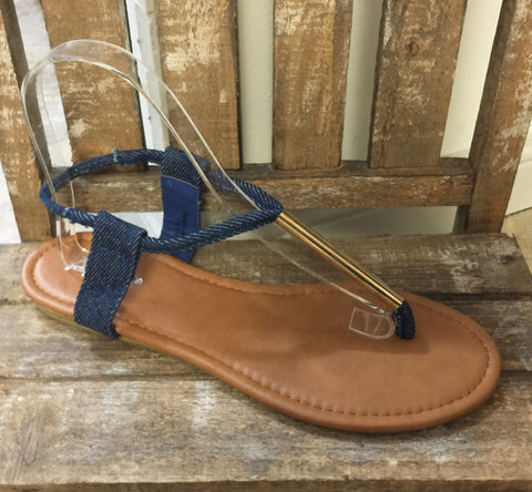 Denim Tilly Sandal