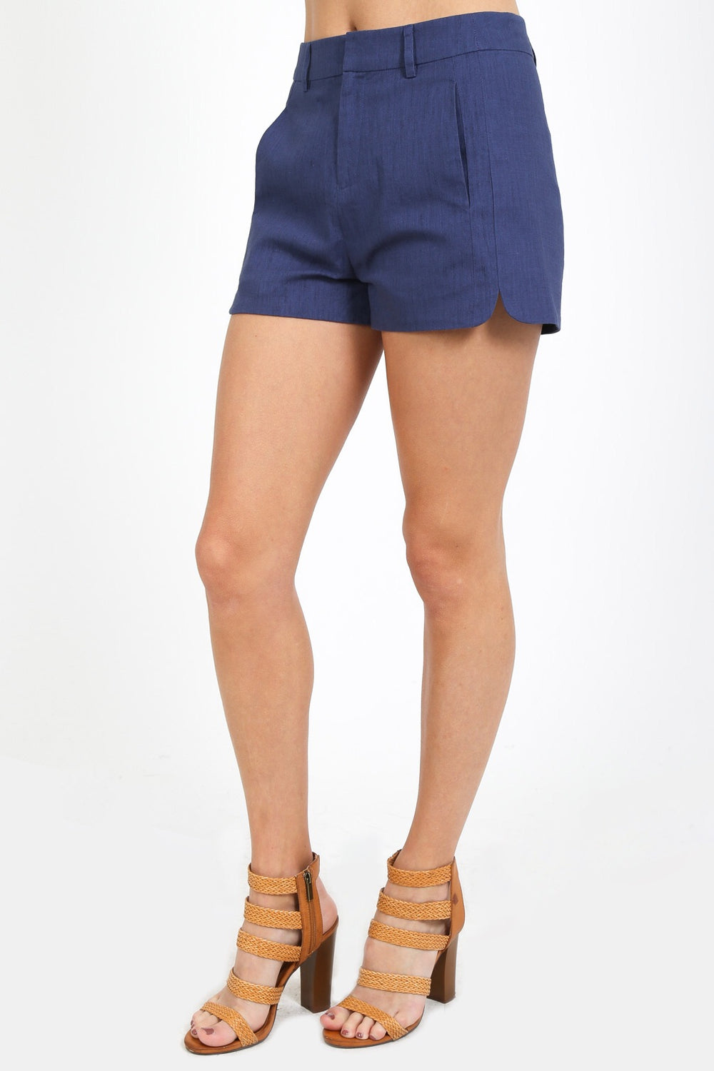 Dress Me Up Navy Shorts