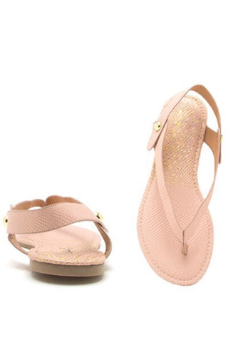 Nude CheChe Sandals