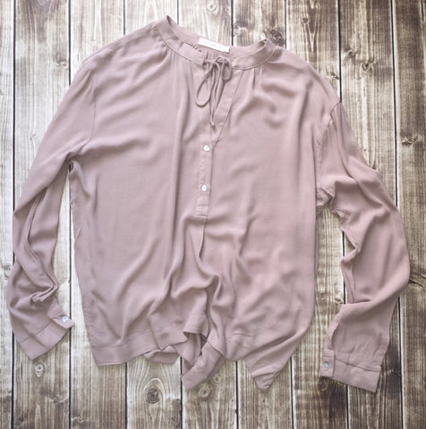 Taupe Boyfriend Top