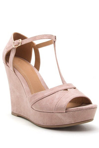 Nola Blush Wedge